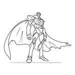 How to Draw Zarkon from Voltron - Legendary Defender