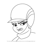 How to Draw Pandora Pitstop from Wacky Races 2017
