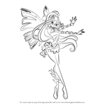 How to Draw Daphne from Winx Club