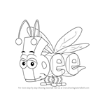 How to Draw Bee from WordWorld