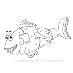 How to Draw Fish from WordWorld