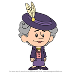 How to Draw Eleanor Roosevelt from Xavier Riddle and the Secret Museum