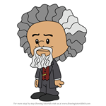 How to Draw Frederick Douglass from Xavier Riddle and the Secret Museum