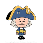 How to Draw George Washington from Xavier Riddle and the Secret Museum