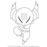 How to Draw Omi from Xiaolin Chronicles