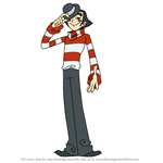 How to Draw Le Mime from Xiaolin Showdown
