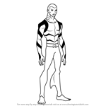 How to Draw Aqualad from Young Justice