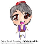 How to Draw Chibi Aladdin