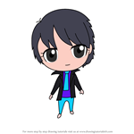 How to Draw Chibi Antonio Perez From Despicable Me 2
