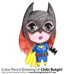 How to Draw Chibi Batgirl
