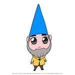 How to Draw Chibi Benny From Gnomeo and Juliet