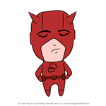 How to Draw Chibi Daredevil