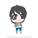 How to Draw Chibi Go Go from Golan the Insatiable