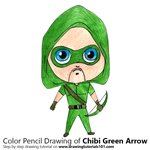 How to Draw Chibi Green Arrow
