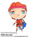 How to Draw Chibi Hercules