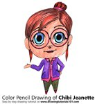 How to Draw Chibi Jeanette