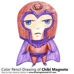 How to Draw Chibi Magneto