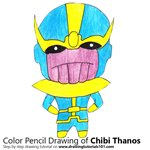 How to Draw Chibi Thanos
