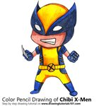 How to Draw Chibi X-men
