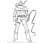 How to Draw Deathstroke