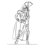 How to Draw Huntress