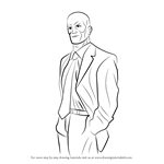 How to Draw Lex Luthor