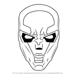 How to Draw New 52 Red Hood Mask
