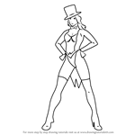 How to Draw Zatanna Zatara