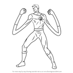 How to Draw Mister Fantastic
