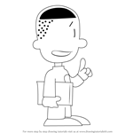 How to Draw Teddy from Big Nate