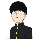How to Draw Shigeo Kageyama from Mob Psycho 100