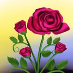 How to Draw a Rose Plant