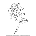 How to Draw a Rose Tattoo