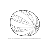 How to Draw Watermelon