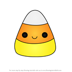 How to Draw Candy Corn