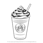 How to Draw Frappuccino