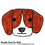 How to Draw a Beagle Dog for Kids
