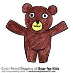 How to Draw a Bear for Kids
