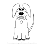 How to Draw Cartoon Dog Easy