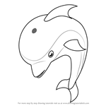 How to Draw Dolphin for Kids