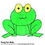 How to Draw a Frog for Kids Very Easy
