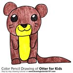 How to Draw an Otter for Kids
