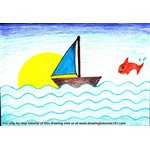 How to Draw a Simple Boat for Kids