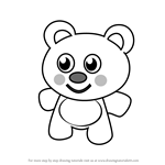 How to Draw Teddy Bear for Kids