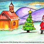 How to Draw Chirstmas Scenery