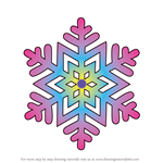 How to Draw Snowflakes