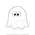 How to Draw a Ghost Cartoon