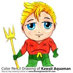 How to Draw Kawaii Aquaman