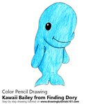 How to Draw Kawaii Bailey from Finding Dory