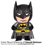 How to Draw Kawaii Batman